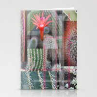 Flowering Cactuses  Stationery Cards