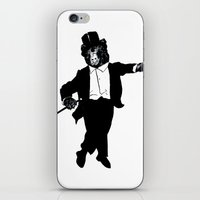 Tap Dancing Bear iPhone & iPod Skin