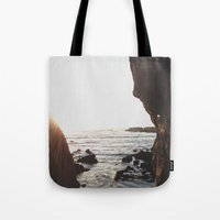 Shell Beach View Tote Bag