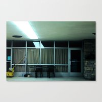 We're All Waiting For Th… Canvas Print