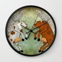 Las Vacas Voladoras - El… Wall Clock
