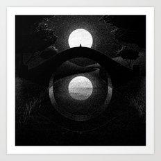 Drawlloween 2014: Eye Art Print