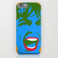 iPhone & iPod Case featuring The Scream #6 by justlikeandy.co.uk Andy Warhol-style