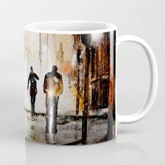 Britain's cold night in warm colors. Mug