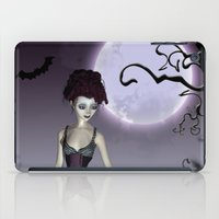 Halloween love iPad Case