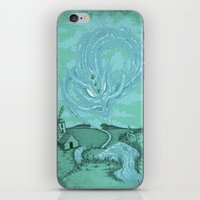 The River's Fierce Ascension iPhone & iPod Skin