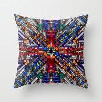 Indian Fr4cT415 Throw Pillow