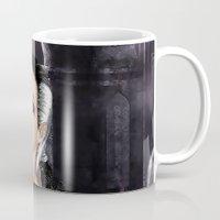 Don't I Bleed? - Gothic Bleeding Female Painting Mug