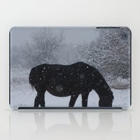 Snow Horse iPad Case