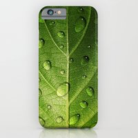 iPhone & iPod Case featuring Think Green by Liz Molnar