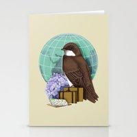 Little World Traveler Stationery Cards