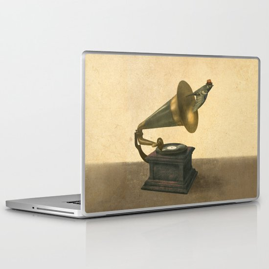Vintage Songbird Laptop & iPad Skin