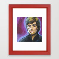 Luke Skywalker Framed Art Print