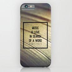 Music Is Slim Case iPhone 6s