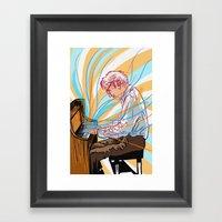 Dave Brubeck Framed Art Print