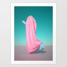 Pink Velvet Art Print