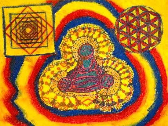Namaste~ Ver.2 Art Print