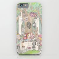 iPhone & iPod Case featuring The Tea Party  by Leyla Akdogan