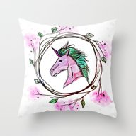 Could I Be A Unicorn? Throw Pillow
