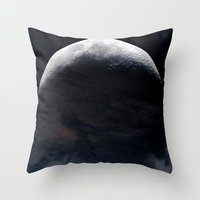 Moonlighted Throw Pillow