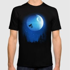 Let's have fun Mens Fitted Tee Black SMALL