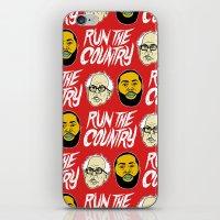 Run The Country iPhone & iPod Skin