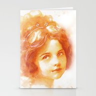 Age Of Innocence Stationery Cards