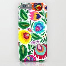 folk grassland Slim Case iPhone 6s