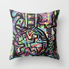 Running Man Throw Pillow