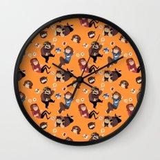 Game Grumps Pattern Wall Clock