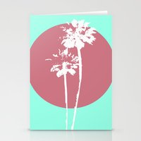 Two Palm Trees Stationery Cards