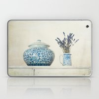 Lavender with Ginger Jar and Jug Laptop & iPad Skin
