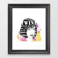 Twinkle Twinkle Little B… Framed Art Print