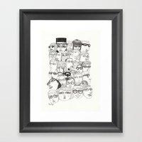 PeopleI Framed Art Print