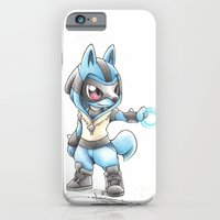 iPhone Cases featuring Isn't he Ad-AURA-ble? by Randy C