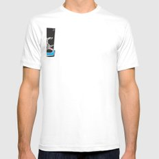 Buffalo Brawl 2 Mens Fitted Tee SMALL White