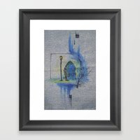 Mystery and Adventure Framed Art Print
