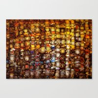 ABSTRACT - Gordion Knot Canvas Print