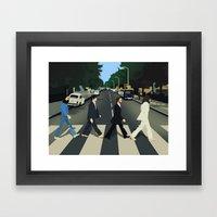 Abbey Road Framed Art Print