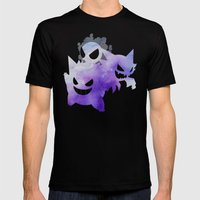 Ghosts Mens Fitted Tee Black SMALL