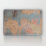 Laptop & iPad Skin featuring Westeros- Game Of Throne… by Kaz Palladino