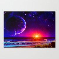 Tranquility Beach Canvas Print