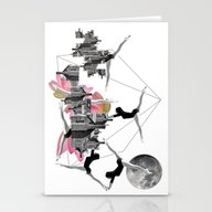 Magical Attack Stationery Cards