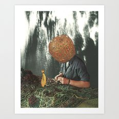 Polynesian Fever Dream Art Print