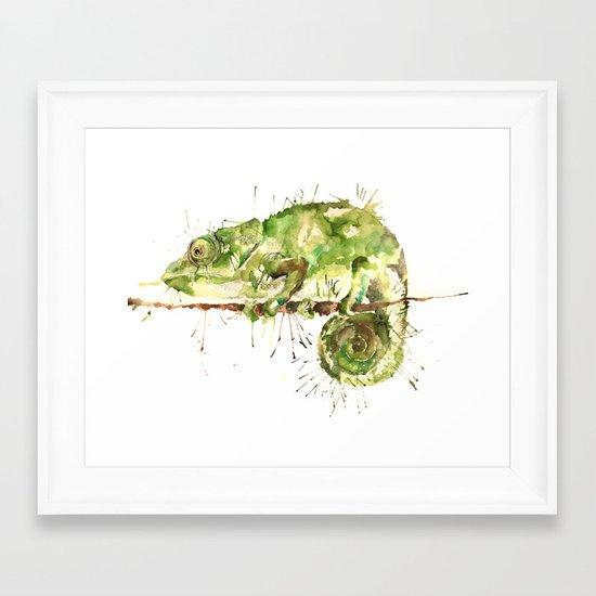 Green Guy Framed Art Print
