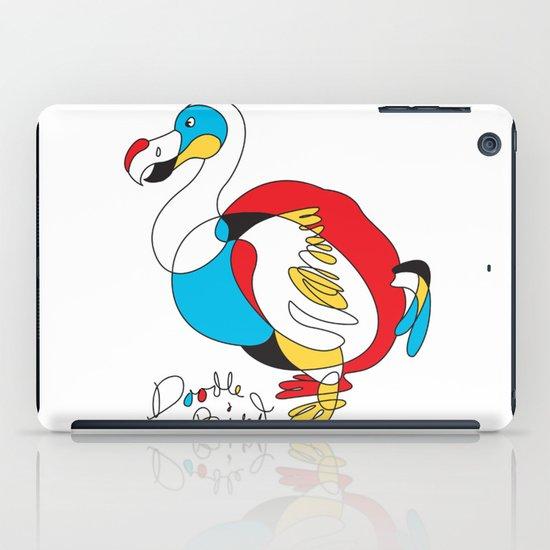 Doodle Bird iPad Case