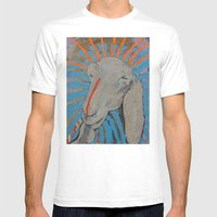 Goathead Mens Fitted Tee White SMALL