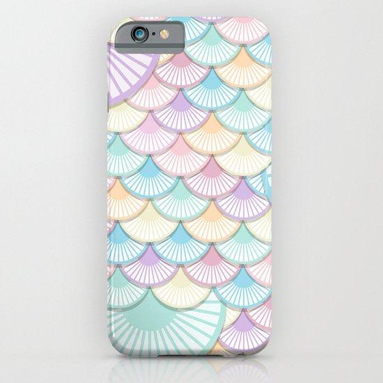 Pastel Wagon Wheels iPhone & iPod Case