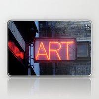 Neon Art Laptop & iPad Skin