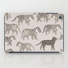 Gray Tigers iPad Case